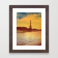 Paris from a Distance  Framed Art Print
