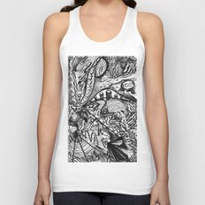 BLACK THOUGHTS  Unisex Tank Top