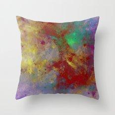 Through The Haze Of Colour Throw Pillow