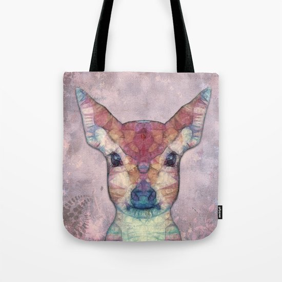 Abstract Fawn Tote Bag
