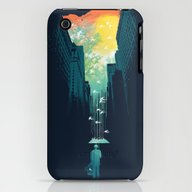 I Want My Blue Sky iPhone (3g, 3gs) Slim Case