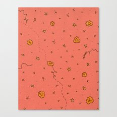 Happy and Healthy Canvas Print