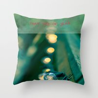 That Time of Year II Throw Pillow