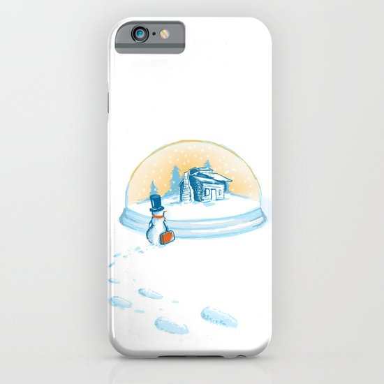 Going Home (a snowman story) iPhone & iPod Case