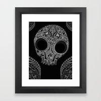 sugar & spice. Framed Art Print