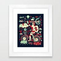 Crazy Lithuania Framed Art Print