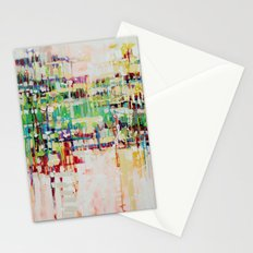 ABSTRACTION island Stationery Cards