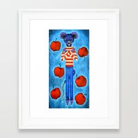 Redemption of Rat Framed Art Print