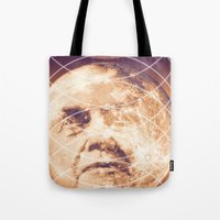 Man in the Moon Phases Tote Bag