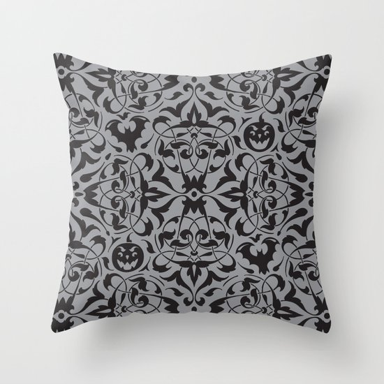 Gothique Throw Pillow