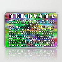 Nerdvana Laptop & iPad Skin