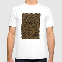 Book Looks Like A Face Mens Fitted Tee White SMALL