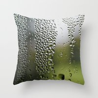 Upside Down Landscapes Throw Pillow