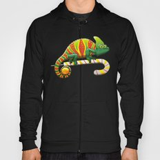 Christmas Chameleon Hoody