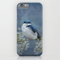 iPhone & iPod Case featuring Tree Swallow by TaLins