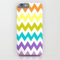 Rainbow Chevron iPhone 6 Slim Case