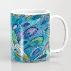 Peacock Up Close Mug