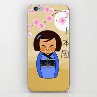 Kokeshi Mizuki iPhone & iPod Skin