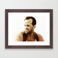 Die Hard Framed Art Print