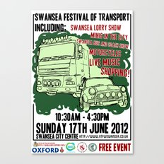SWANSEA FESTIVAL OF TRANSPORT Canvas Print