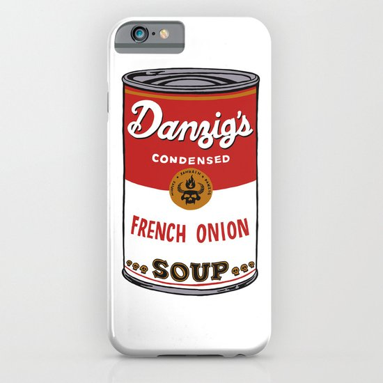 Danzig's Soup iPhone & iPod Case