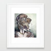 Vulpes Masquerade, Now A… Framed Art Print