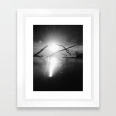 surface level . ii Framed Art Print