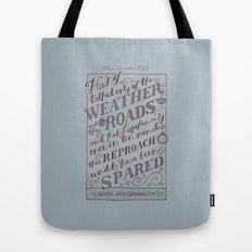 Jane Austen Covers: Sense and Sensibility Tote Bag