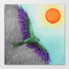 Rain Bird Canvas Print