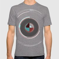 Time Management Mens Fitted Tee Tri-Grey SMALL