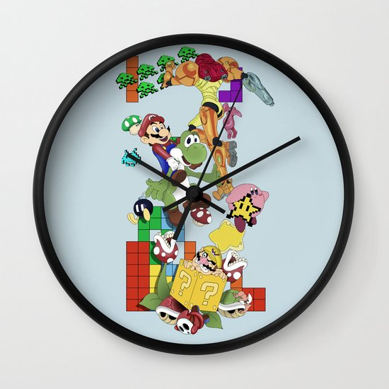 NERD issimo Wall Clock