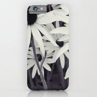 Daisies Black And White iPhone 6 Slim Case