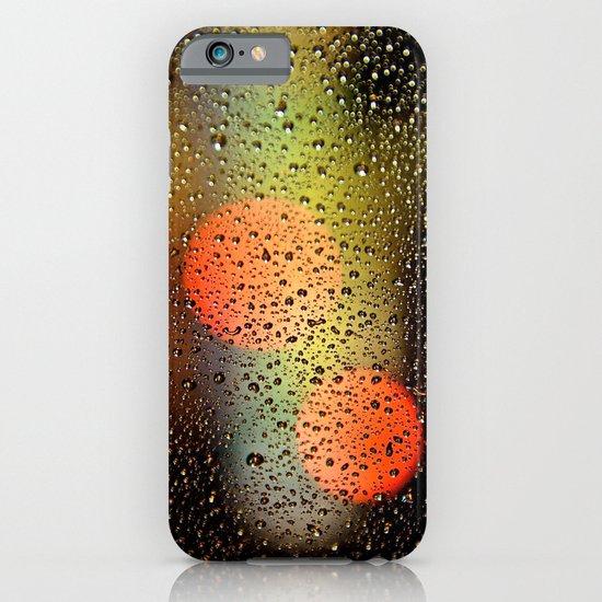 Rain Drops and Color Pops iPhone & iPod Case
