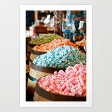 Salt Water Taffy Art Print