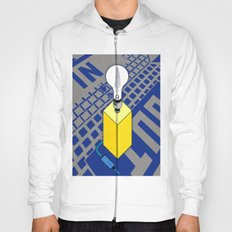 The case of The Light Switch. Hoody