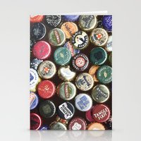 CAPS BEERS MANIPULATED Stationery Cards