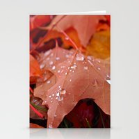 Autumn Dew Stationery Cards