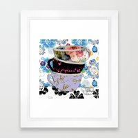 There's A Pattern On My … Framed Art Print