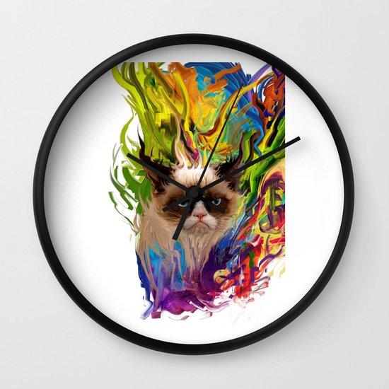 grumpys rich inner world Wall Clock
