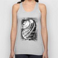 Snail Unisex Tank Top