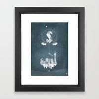 Sick (logo) Framed Art Print