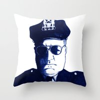 Don't Mess With Me Throw Pillow