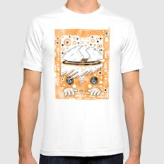 Fat Berts window White SMALL Mens Fitted Tee