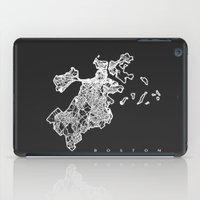 BOSTON MAP iPad Case