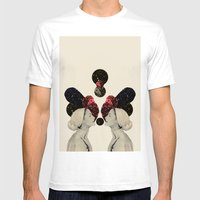 helen and clytemnestra Mens Fitted Tee White SMALL