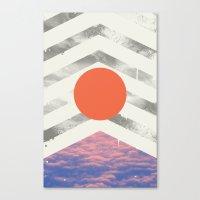 Vojaĝo Canvas Print