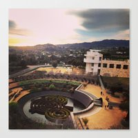 The Getty 1/22/13 Canvas Print