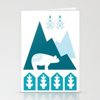 Heart the Polar Bear Stationery Cards