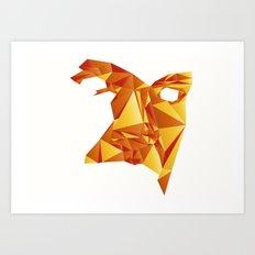 Polyface Color Art Print