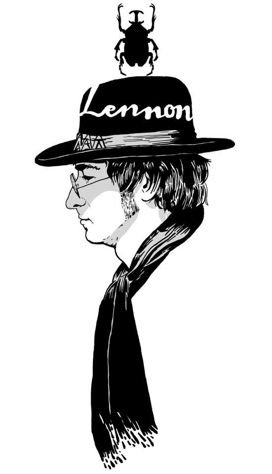Lennon.John Canvas Print
